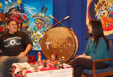 NVTV – Jesse Hernandez (Yaqui/Chicano) – 'Urban Native & Urban Aztec' Artist: Part 2