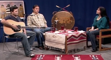 NVTV – Jeremy Goodfeather (Mohawk) and Crow Knight (Minnecoujou/Lakota)