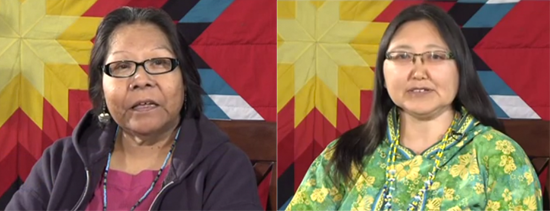 NVTV – Donna Seaton (Washoe) and Ac' aq Ester Stauffer (Alaska Native-Yup'ik)