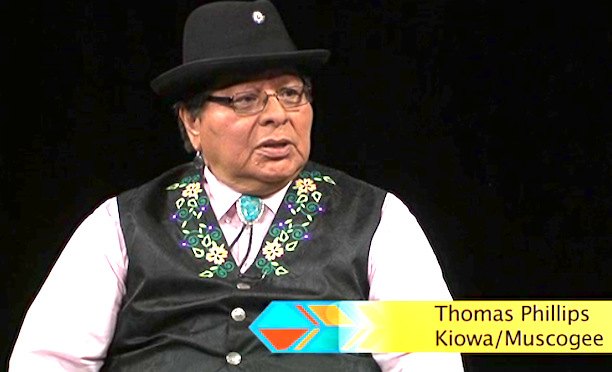NVTV – Tom Phillips (Kiowa/Muscogee)