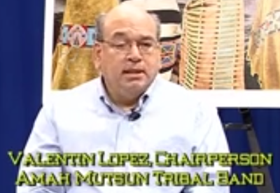 NVTV – Valentin Lopez, Tribal Chairperson of Amah Mutsun Tribal Band