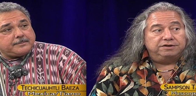NVTV – Baeza (Mexica/Tiano) & Wolfe (Muscogee Creek Nation)