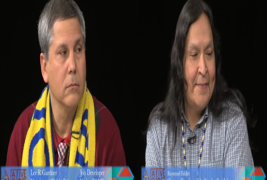 NVTV – Gardner (Navajo/Paiute) and Fiddler (Cheyenne/Sioux)
